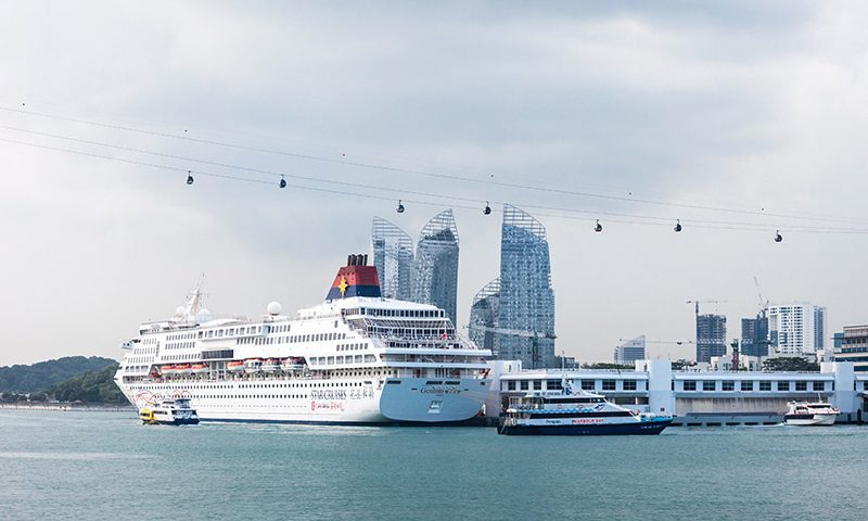 Turis Indonesia Meminati Wisata Kapal Pesiar ke Singapura