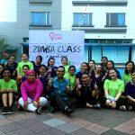 Zumba Class dan BBQ Dinner di Grand Mercure Medan