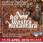 Adiwastra Nusantara 2018 Angkat Fashion Kekinian