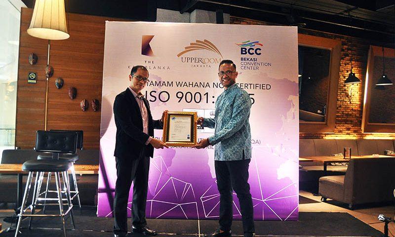 Berbekal ISO 9001:2015, Alcor MICE Siap Hadapi Tantangan Industri MICE