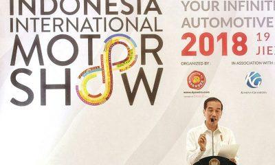IIMS 2018 Dibuka oleh Presiden Joko Widodo