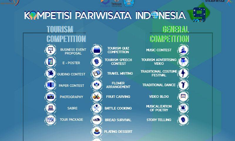 Kompetisi Pariwisata Indonesia 9: Luapkan Semangat Berkompetisi