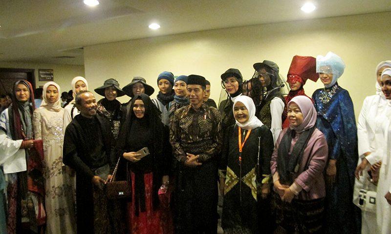 Presiden Jokowi: Busana Muslim harus Memiliki Ciri Khas Indonesia