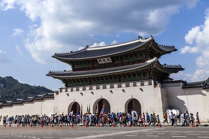 Gwanghwamun Gate Korea Selatan