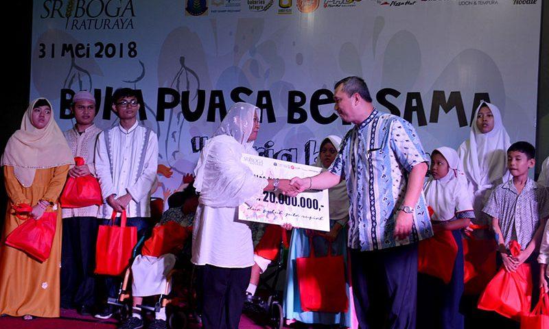 Sriboga Raturaya Adakan Buka Puasa Bersama 257 Anak Disabilitas