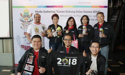 Canon dan Datascrip Turut Menyukseskan Perhelatan Asian Games 2018