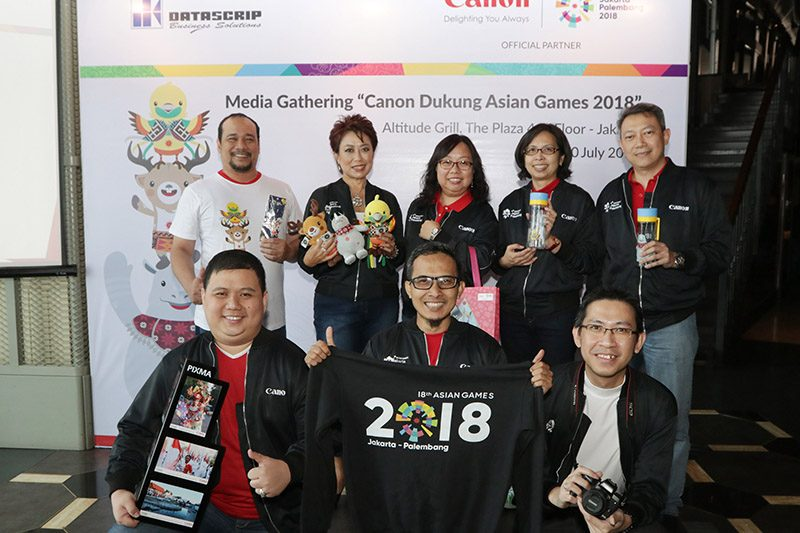 Asian Games 2018, Canon, PT Datasrip