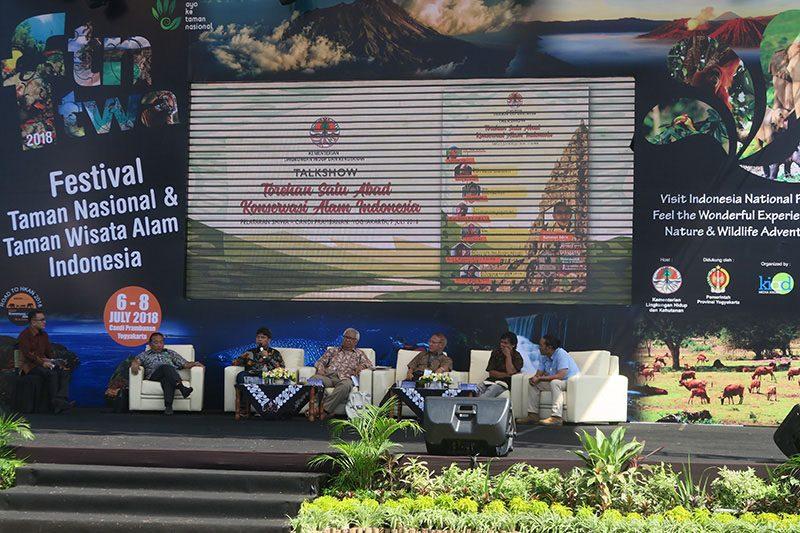 Festival Taman Nasional & Taman Wisata Alam Indonesia