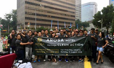 Arosa Hotel Jakarta Menandai Kehadirannya dengan Aksi Bersih-Bersih
