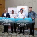 PT Indonesia International Expo dan DMVO Beri Donasi untuk Korban Bencana Palu dan Donggala