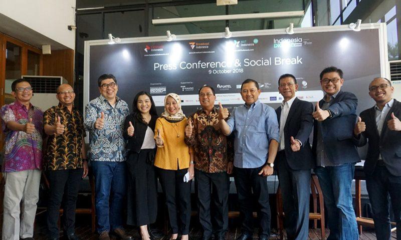 Communic, Broadcast, dan NXT Indonesia Sukseskan Peta Infrastruktur Digital