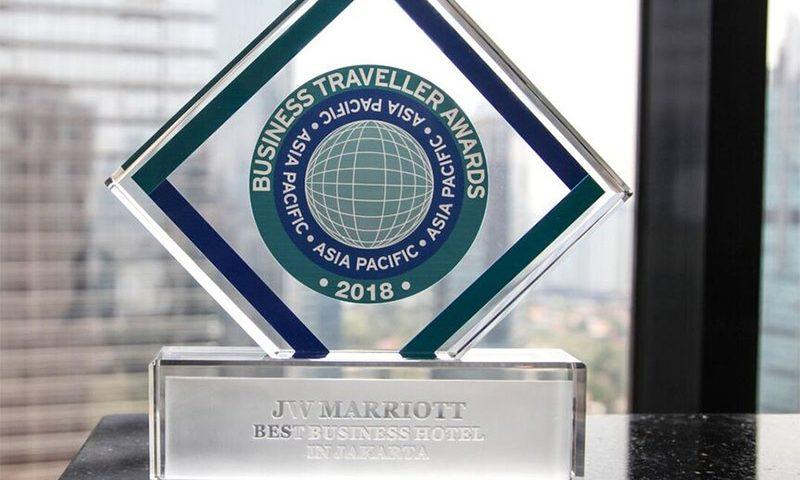 JW Marriot Jakarta Meraih Penghargaan Hotel Bisnis Terbaik di Jakarta