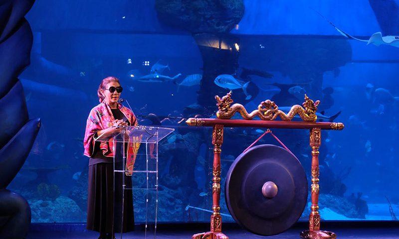 Susi Pudjiastuti Meresmikan Hadirnya Jakarta Aquarium