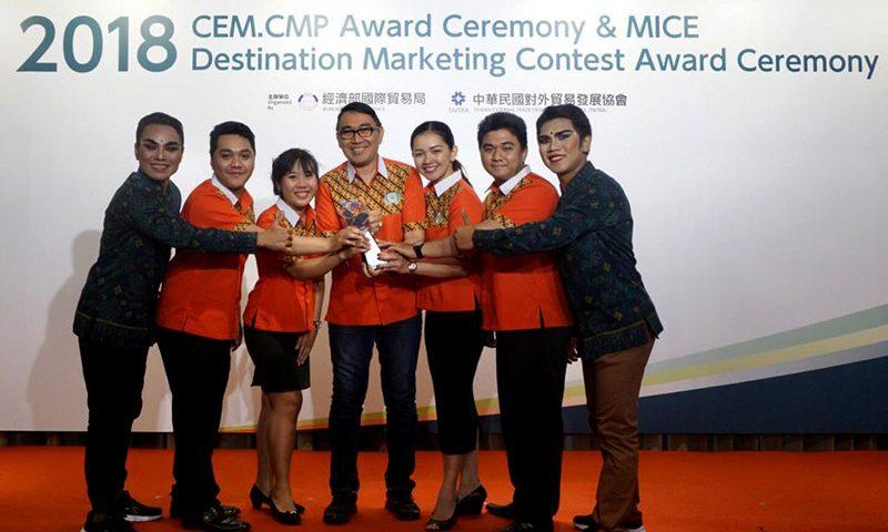 STP Bali Internasional Menangi Kompetisi MICE Destination Marketing Contest