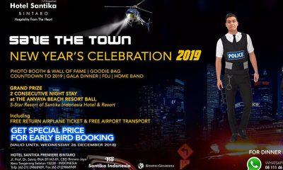Save The Town 2019, Perayaan Tahun Baru di Santika Premiere Bintaro