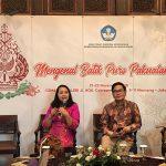 Kemendikbud Promosikan Kembali Batik Puro Pakualaman
