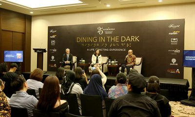 Fairmont Jakarta Selenggarakan Dining In The Dark