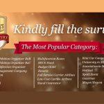 Majalah VENUE Berikan Penghargaan Indonesia's Most Popular MICE Industry 2018