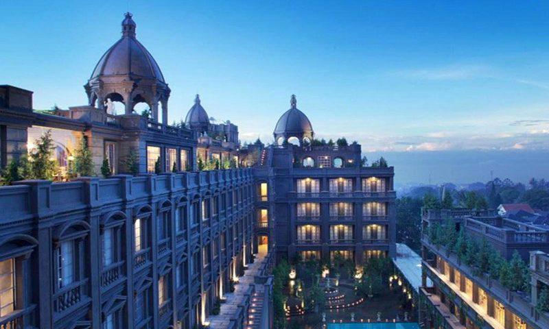 Sambut Tahun Baru, GH Universal Hotel Usung Tema Winter Tale Ala Eropa