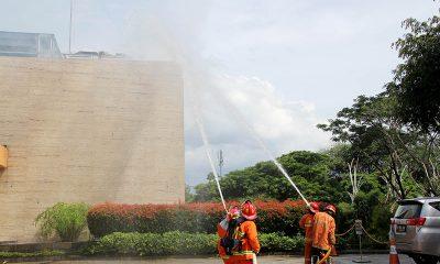 Kebakaran di Ruang Meeting Aston Bogor, Dua Korban Tak Sadarkan Diri