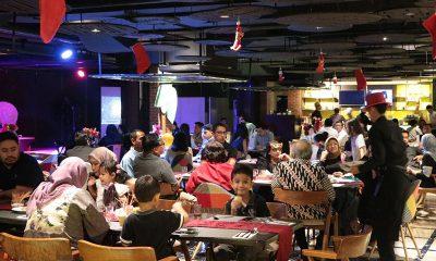 Meriahnya Peringatan Tahun Baru di Luminor Hotel Pecenongan Jakarta