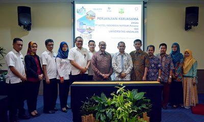 PT Hotel Indonesia Natour Laksanakan Kerja Sama Sinergis dengan Universitas Andalas