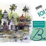 Bali Menjadi Tuan Rumah Acara Sketsa Seni Internasional Pertama di Indonesia