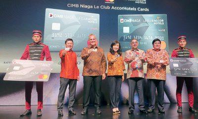 AccorHotels, CIMB Niaga, dan Mastercar Terbitkan Kartu Kredit Co-Brand