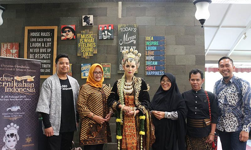 Gebyar Pernikahan Indonesia 2019 Mengangkat Tema Pengantin Jawa