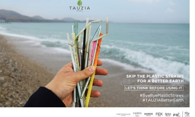 TAUZIA International Management Meluncurkan Kampanye #ByeByePlasticStraws