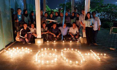 Earth Hour, Puncak Green Engage dari Holiday Inn Express JIExpo