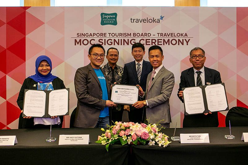 Singapore Tourism Board Traveloka