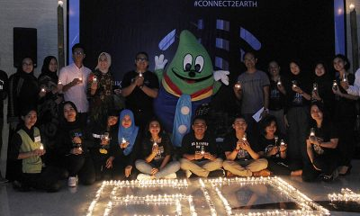 Aksi Nyata Teraskita Hotel managed by Dafam dalam Earth Hour 2019