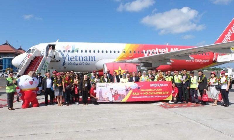 Vietjet Air Buka Penerbangan Bali – Ho Chi Minh