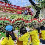 Festival Bakcang dan Lamang Baluo di Padang Raih Rekor MURI