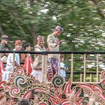 Presiden Jokowi Berpawai di Pesta Budaya Bali