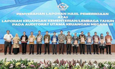 Kinerja Keuangan Kemenpar Dinilai  WTP Oleh BPK