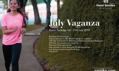 July Vaganza Menginap Istimewa di Hotel Santika Premiere Bintaro