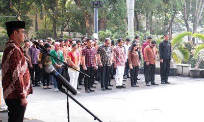 Upacara HUT RI ke-74 di THE 1O1 Jakarta Sedayu Darmawangsa
