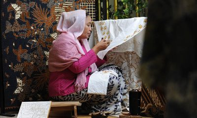 Sudut Batik di Hotel Borobudur Jakarta