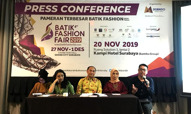 Batik Fashion Fair 2019 Usung Sustainable Fashion