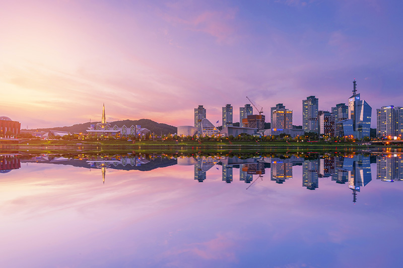 Daejeon, Hub Konvensi Baru