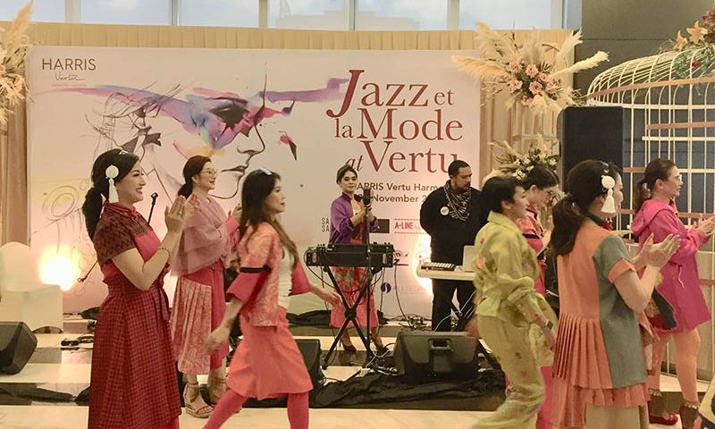 Jazz et La Mode at Vertu: Berpadunya Jazz dan Fashion
