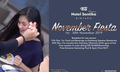 November Fiesta Hotel Santika Premiere Bintaro