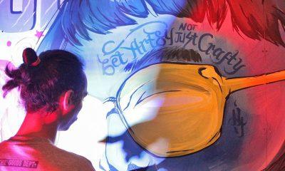 Live Mural Mengakhiri Acara OCTOBArt 2019