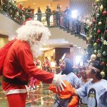 Perayaan Christmas Tree Lighting di Wyndham Casablanca Jakarta