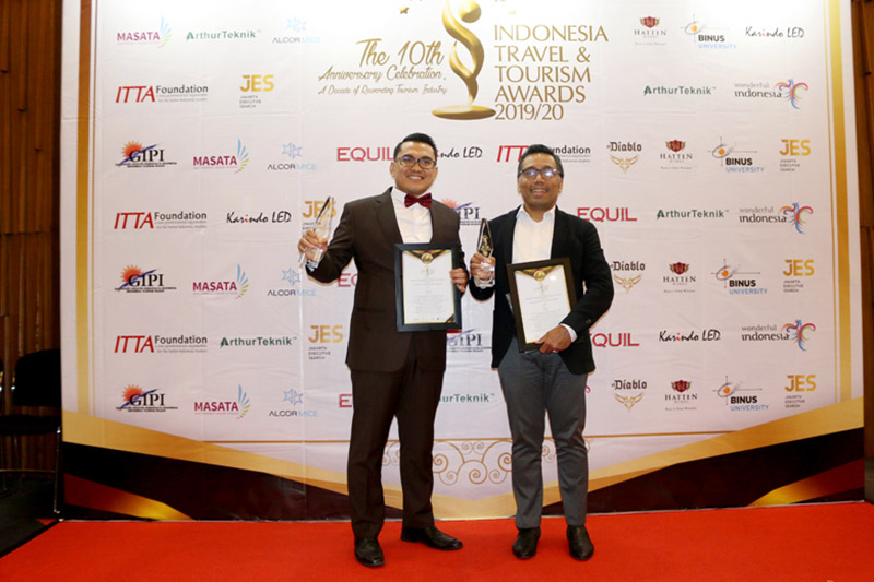 Le Eminence Hotel Puncak Borong Dua Penghargaan Indonesia Travel Tourism Award 2019