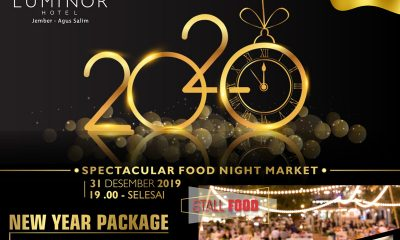 Spectacular Food Night Market di Hotel Luminor Jember