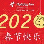 Imlek di Bandung, Coba ke Holiday Inn Bandung Pasteur