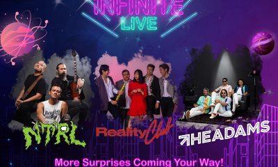 The Adams Semarakkan Panggung Infinite Live